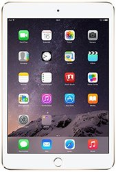 "Apple iPad Mini 3 7.9"" 64GB Wi-Fi - Gold (MH392LL/A)"