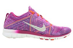 2a26b16ba848 ... Nike Women s Free TR Flyknit Training Shoes- Fuchsia White- Sz 9.5 B ...