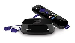 Roku 2015 Model 3 Streaming Media Player with Voice Search (4230R)
