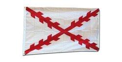 Cross Of Burgundy - 3' X 5' Nylon Historical Flag