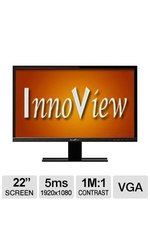 """HKC Innoview 22"""" Widescreen LED Monitor (I22LMH1)"""