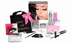 Lashes and Cosmetics Eyelash Extension Kit - No Burn Glue Non Irritant