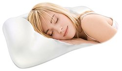 Pleasure Pedic Micro Foam Bead Pillow - White - Standard Size