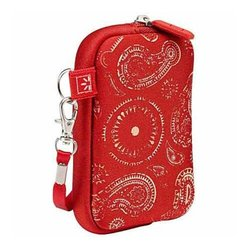 Case Logic UNZT-2 Compact Trend Red Plaid Case