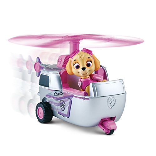 Paw Patrol Skye S Pink High Flyin Copter Spin Master 2013