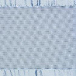 Bayshore Breathable Mesh Crib Liner blue