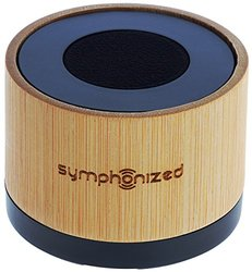 Symphonized NXT Bamboo Wood Bluetooth Portable Speaker for All BT Devices