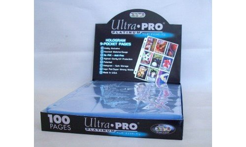 Ultra Pro Card Baseball Card Album 3 Inch D Ring Binder And A Sealed Box Of 9 Pocket Storage Sheets 100 Pages Check Back Soon