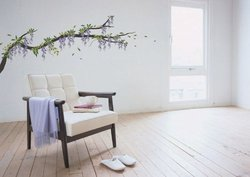 Wisteria Wall Decal Sticker 28 x 20in