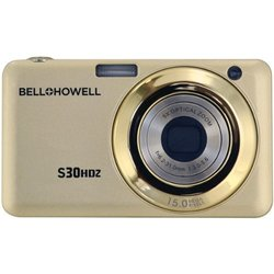 Bell+Howell S30HDZ-C 15MP Digital Camera with 2.7-Inch LCD (Champagne)