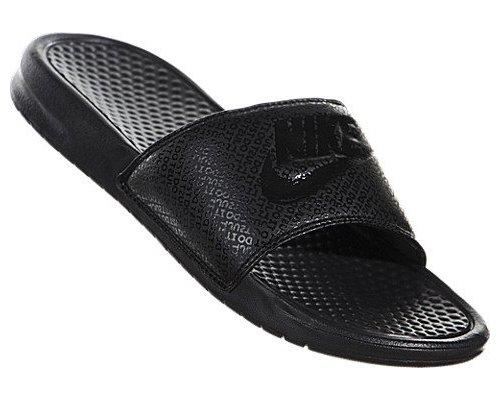 half off f7177 19897 ... Nike Mens Benassi JDI Slide Black Black 343880 001 (10 D(M) ...