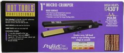 Hot Tools Micro Crimper Curling Iron - 1""