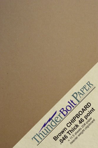 Thunderbolt Paper Thick Cardboard Craft Packing Brown Kraft 150