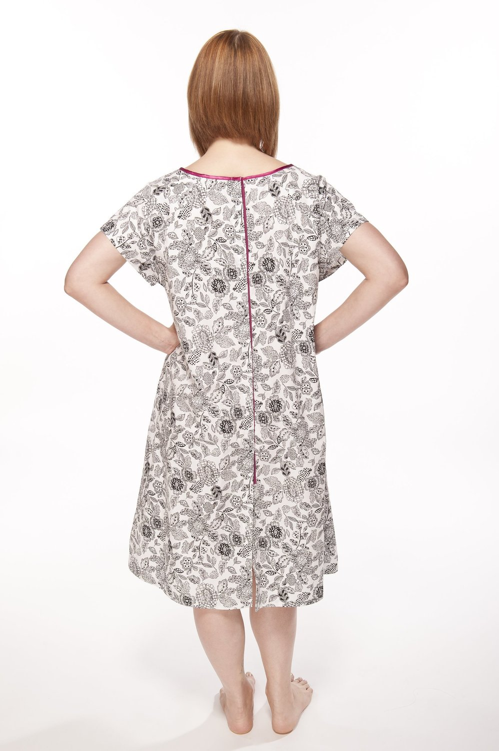 Baby Be Mine Gownies Labor & Delivery Maternity Hospital Gown - Ella ...