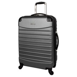 """Ciao Voyager 24"""" ABS Spinner Charcoal - 82619-09-24S"""