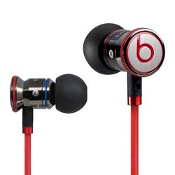 Beats by Dr. Dre iBeats In-Ear Headphones w/ Control Talk - Black / Red