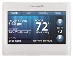 Honeywell WiFi 9000 Color Thermostat - Silver (TH9320WF5003)