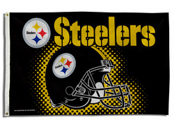 Rico - Pittsburgh Steelers Banner Flag - 3 x 5