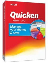 Intuit Quicken 2013 Deluxe - 1 User - CD-ROM - PC (419356)