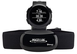 Magellan Echo Smart Sports Watch with Heart Rate Monitor-Bluetooth Smart (Black)