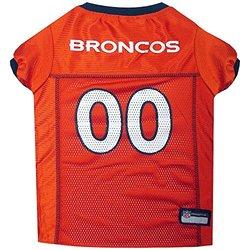 NFL AFC Pet Mesh Jerseys: Denver Broncos/Large