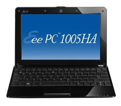 "Asus Eee PC 1005HA 10.1"" Laptop 2GB 160GB Windows XP (1005HA-VU1X-BK)"