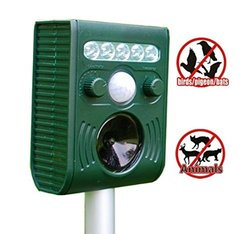 Iwisee Solar Animal and Birds Repeller - Electronic Pest Control Repellent