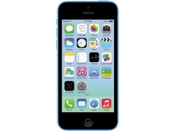Unlcoked iPhone: 5c Smartphone 8GB - Blue