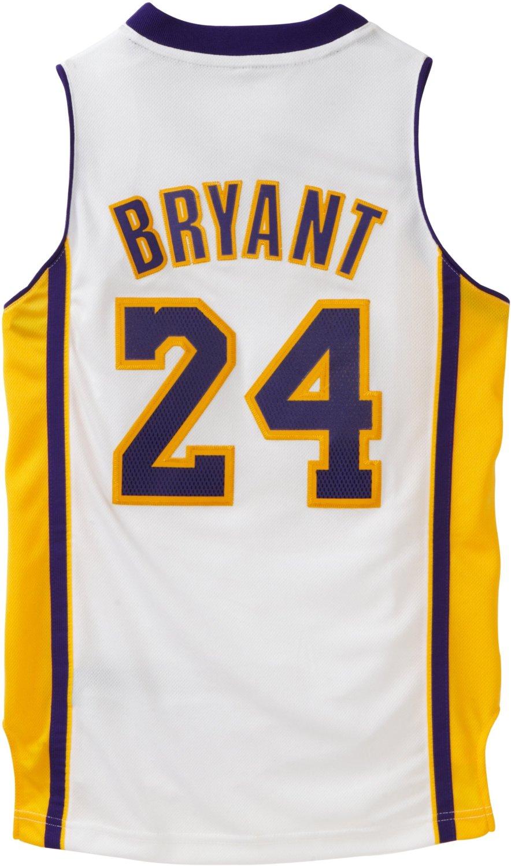NBA Los Angeles Lakers Kobe Bryant Swingman Jersey - White - Check ...