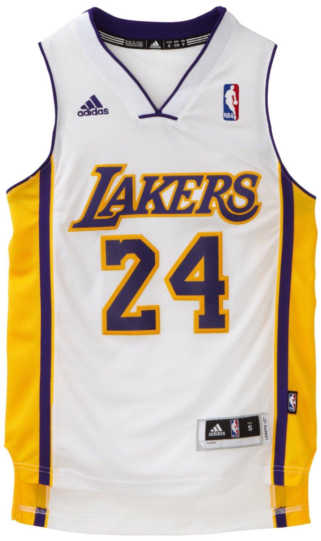 zqkfdn NBA Los Angeles Lakers Kobe Bryant Swingman Jersey - White - Check