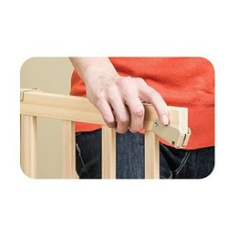 ... Evenflo Top Of Stair Extra Tall Gate   Natural (1050500) ...