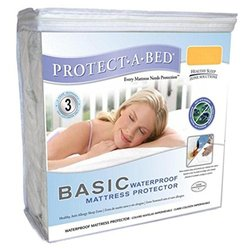 Protect-A-Bed Basic Mattress Protector, Queen