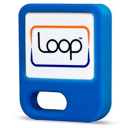 LoopPay Mobile Wallet Fob for Smartphones - Blue