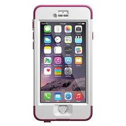 LifeProof Nuud WaterProof Case for iPhone 6 - Pink Pursuit (77-51281)
