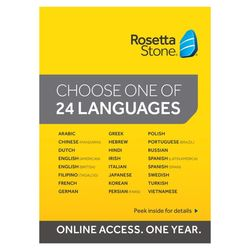 Rosetta Stone TOTALe Language Learning Software w/ 12 Months Online Access