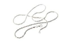 """Yedid Women's 22"""" Italian Sterling Silver Chain Necklace - Roc"""