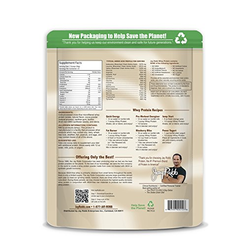 ... Jay Robb Whey Protein Powder Chocolate -- 24 oz ...
