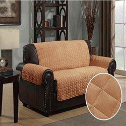 Kashi Home 70 x 120 Furniture Protector Pet Cover - Camel