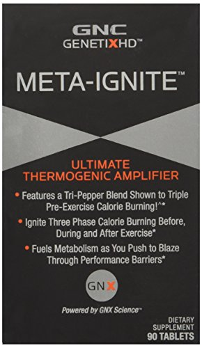 Gnc Genetixhd Meta Ignite Ultimate Thermogenic Amplifier 90 Tablets