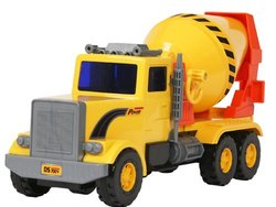 Small World Toys Vehicles - Cement Mixer (Friction Powered)