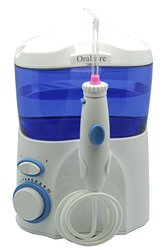 Oralcare Classic Professional Water Flosser includes Classic Jet Tips
