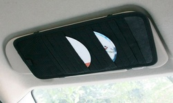 Neewer Multi-functional Auto Car Clip Sunvisor Car Storage Bag - Black