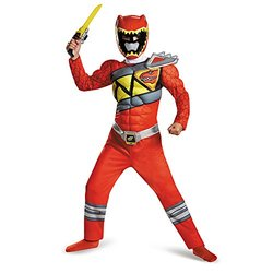 Boy's Red Ranger Dino Charge Costume