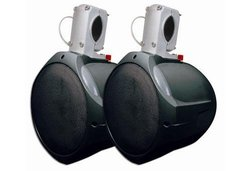 "MCM Custom Audio 6 1/2"" Marine Wakeboard Two-Way Speaker Pair - Black"