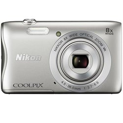 Nikon COOLPIX S3700 20.1MP Digital Camera - Silver (26478)