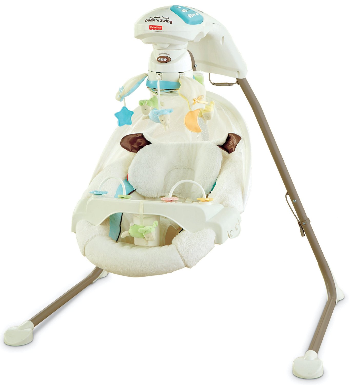 ... Fisher-Price Cradle 'n Swing with AC Adapter - My Little Lamb (Y5708 ...