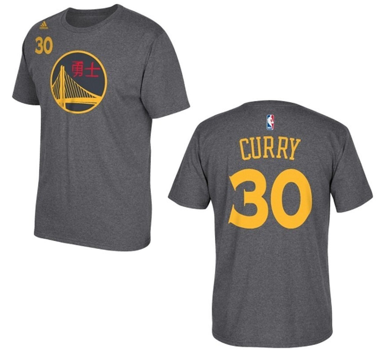 the best attitude a0c3c 39198 adidas Stephen Curry Youth Name & Number T-Shirt - Grey - Size: Small 8 -  Check Back Soon