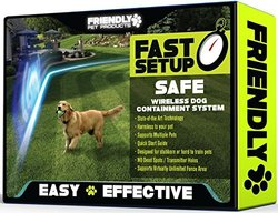 Friendly Pet Wireless Outdoor Dog Fence with Radio & Wifi Transmitter