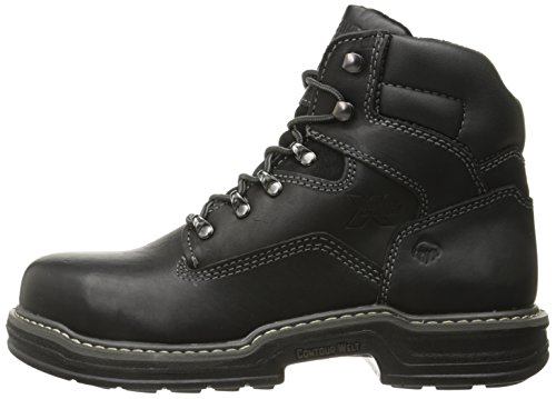 Contour Welt S/T EH Work Boot - Black