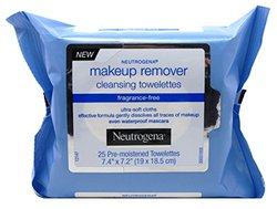 Neutrogena Makeup Remover Cleansing Towelettes - 25 Count - Pack of 6